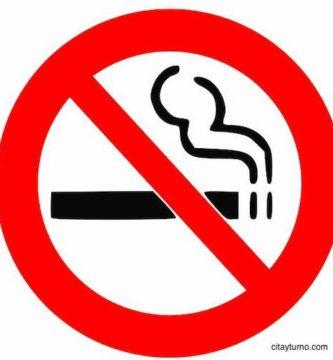 Letrero No Fumar