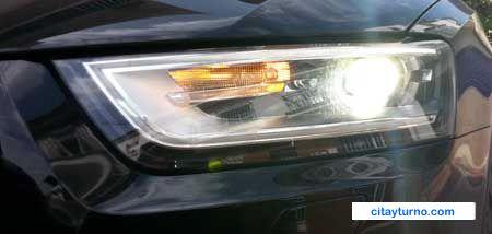 Comprobar luces vehículo antes de VTV