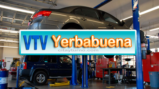 VTV Yerbabuena Información con Mapa-plano, Dirección, teléfono, precios, horarios y Turnos instalaciones del Taller de Revisión Técnica Vehicular (RTV), ubicadas en Yerba Buena Provincia de Tucumán