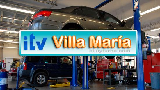 ITV Villa Maria Información con Mapa-plano, Dirección, teléfono, precios, horarios y Turnos instalaciones del Taller de Revisión Técnica Vehicular (RTV), ubicadas en Villa María Provincia de Córdoba