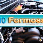 Revisión Técnica Obligatoria (RTO), también llamada Verificación Técnica Vehicular (VTV) en Formosa - instalaciones del Taller de Revisión Técnica Obligatoria (RTO), ubicadas en el Parque Industrial de Formosa.