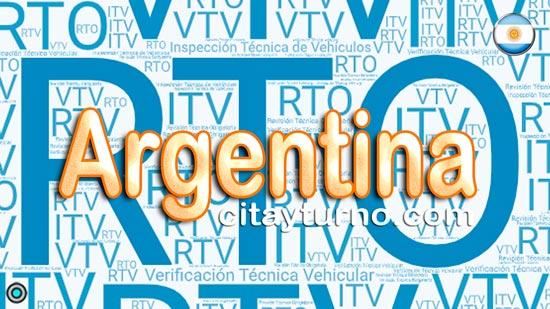 Información de las Plantas de Revisión Técnica Vehicular de Argentina con Mapa-callejero, Dirección, teléfono, costo, horarios y RTO Turnos